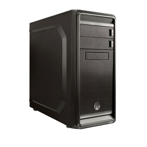 Raijintek Arcadia Mid Tower Case Black