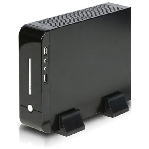 iStar S-0112-DT Black Compact Stylish Mini-ITX Enclosure w/ 120W