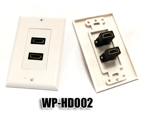 Bytecc WP-HD002 Dual HDMI Wall Plate