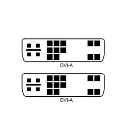 Generic DVI-A Male to DVI-A Male 6' Cable