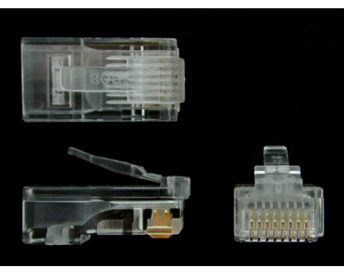 Generic Network Cat6 RJ45 50 Ends Stranded