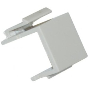 Generic Blank Insert for Wall Plate White