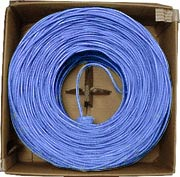 Generic Network 1000' Cat6 Blue 200MHz Stranded Cable
