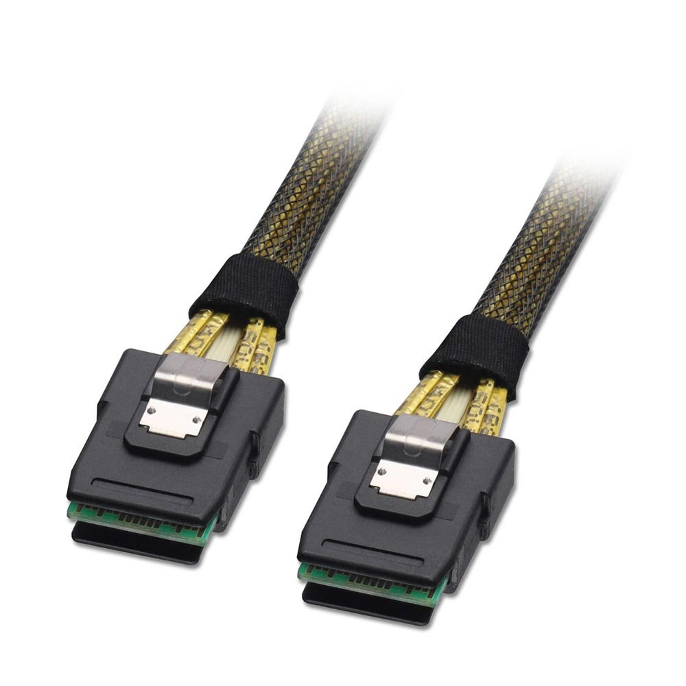 Microsemi 1.0Meter Mini SAS Male to Mini SAS Male 2279700-R