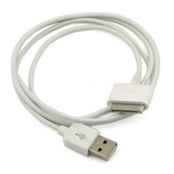Generic White IPod / iPhone / IPad Sync Charging USB Cable