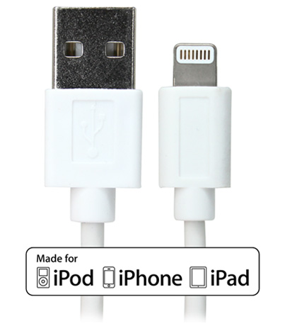 BlueKi 5' Apple Lightning to USB Cable