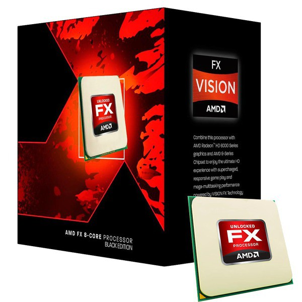 AMD FX-8350 VisheraI 4.0GHz 8-Core Skt AM3+ 4X2MB Box