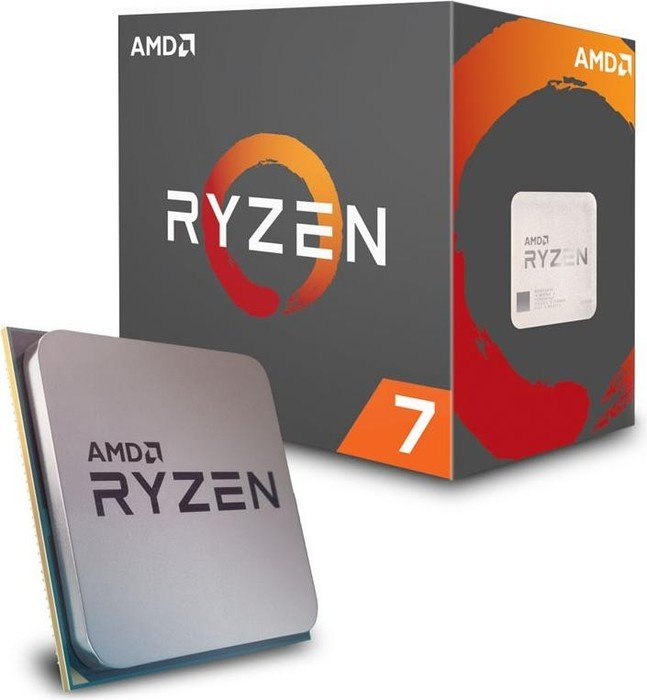 AM4 AMD Ryzen 7 1800X 3.6 GHz 8-Core 4 MB NO FAN Box YD180XBCAEW
