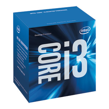 LGA1151 Intel Core i3-6100 3.7Ghz 3MB Skylake DUAL Box BX80662I3