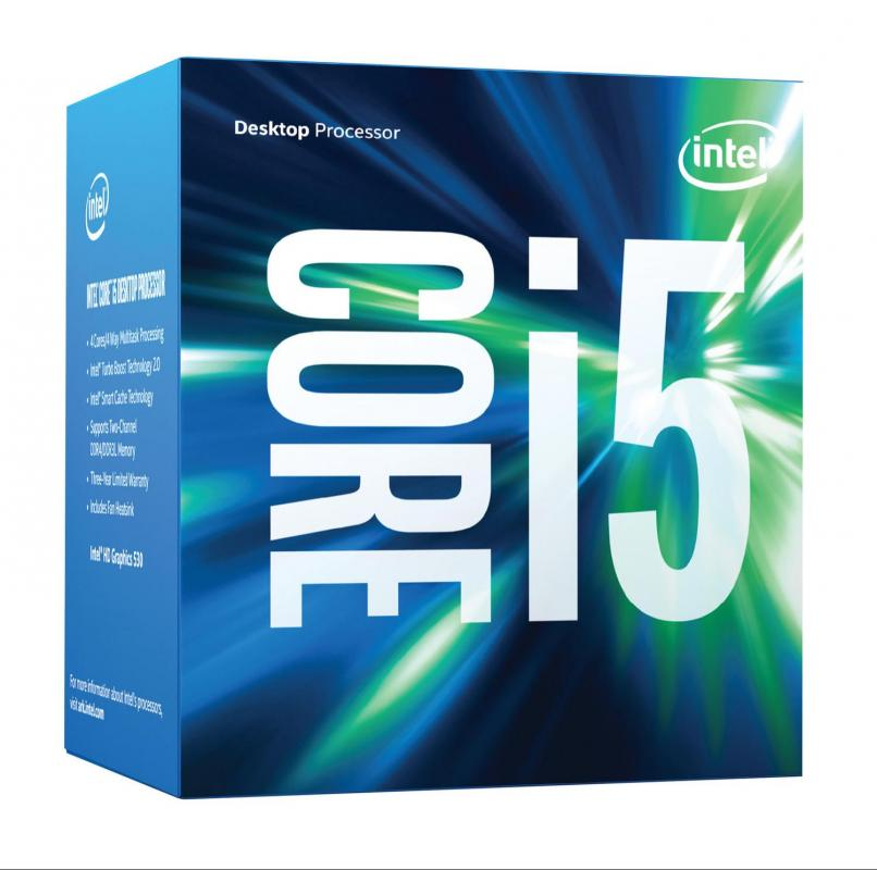 LGA1151 Intel Core i5-7500 3.4Ghz 6MB Kaby Lake QUAD Box BX80677