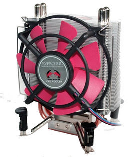 Evercool Buffalo Heat Pipe CPU Cooler Skt 775