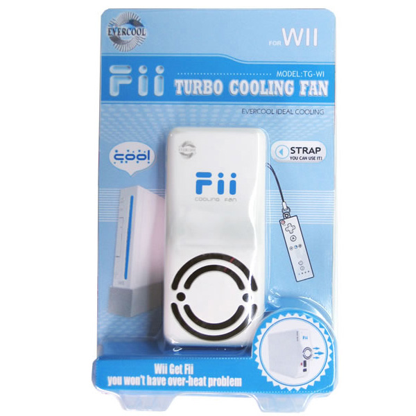 Evercool Fii Wii Console Turbo Cooling Fan TG-W1