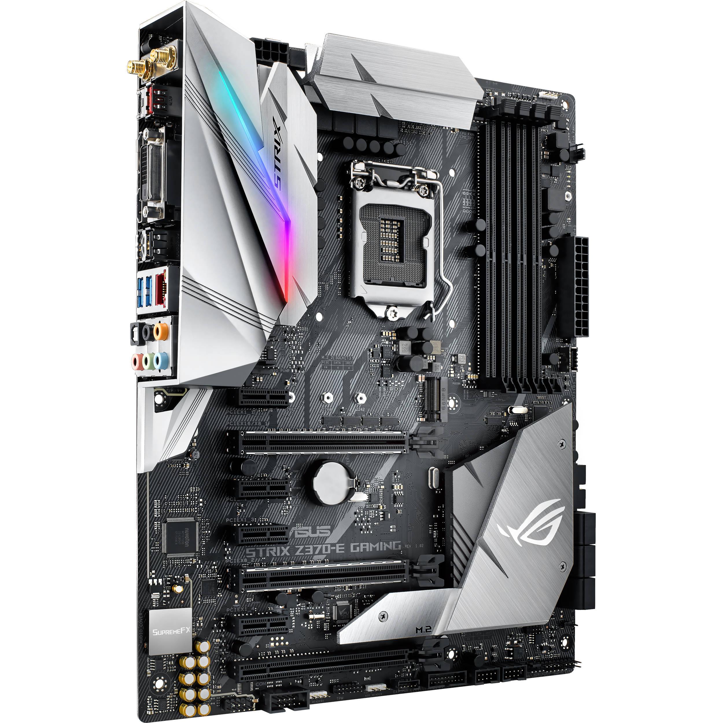 LGA1151 Asus STRIX Z370-E GAMING ATX Mainboard