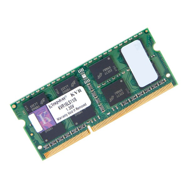 Kingston 8GB DDR3-1600 PC3L-12800 SODIMM 204PIN Memory KVR16LS11
