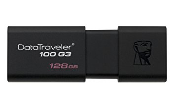 Flash Drive 128GB Kingston DataTraveler 100 USB 3.0/2.0 DT100G3/