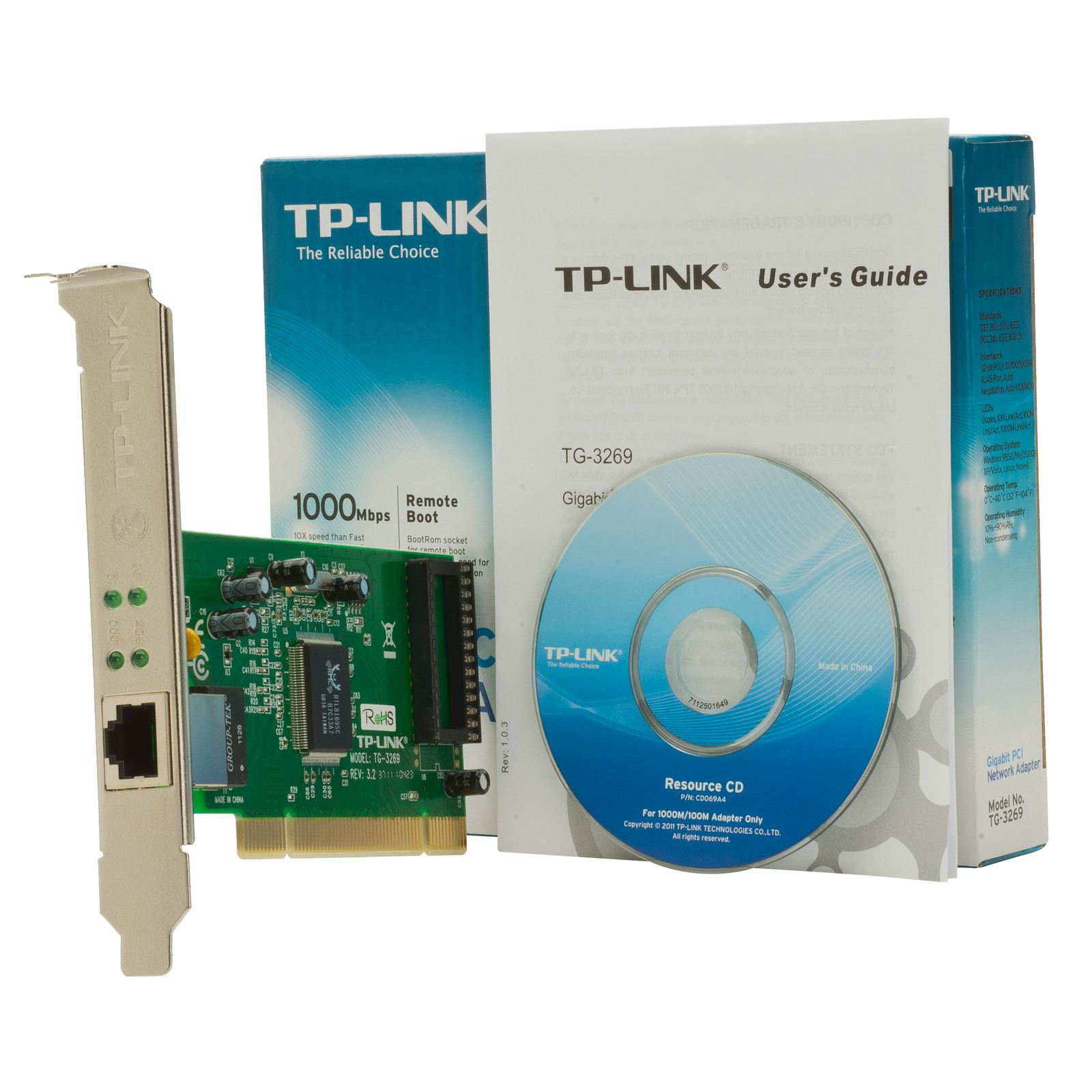All Products Startech Computers Tp Link Tg 3468 Gigabit Pci Express Network Adapter Ethernet Card 3269