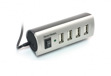 Gear Head 4-Port USB2.0 Hub UH4500ES