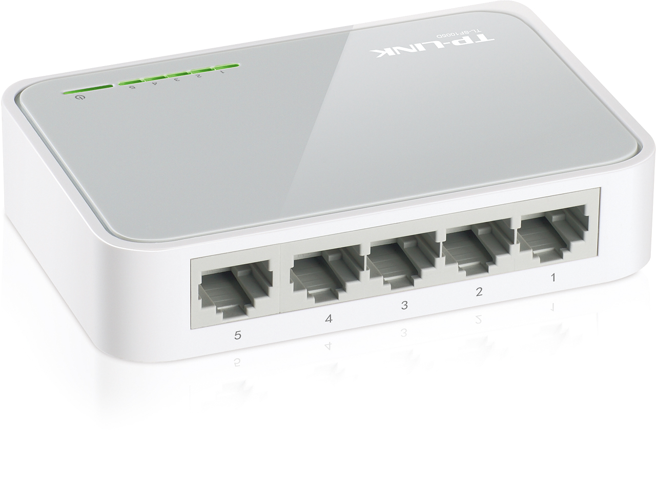 TP-Link 5-Port 10/100 Desktop Switch TL-SF1005D