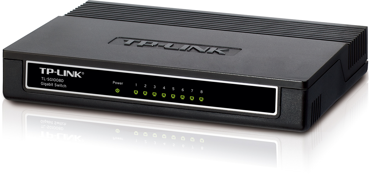 TP-Link 8-Port Gigabit Desktop Switch TL-SG1008D