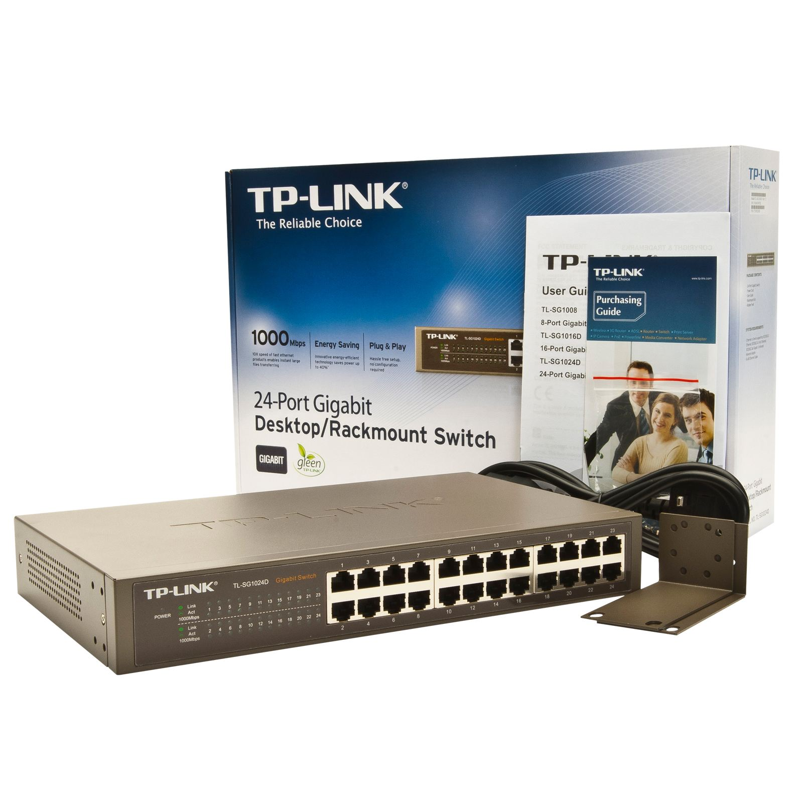 TP-Link 24-Port Gigabit Desktop Unmanaged Switch TL-SG1024D