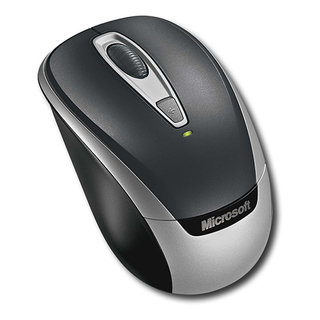 MS Wireless Mobile Mouse 3000 v2 BK USB 2EF-00002
