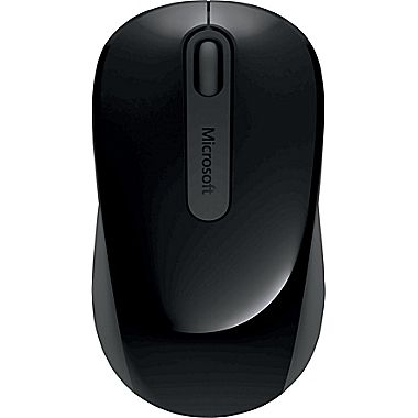 MS Wireless 900 Mouse Black USB PW4-0001