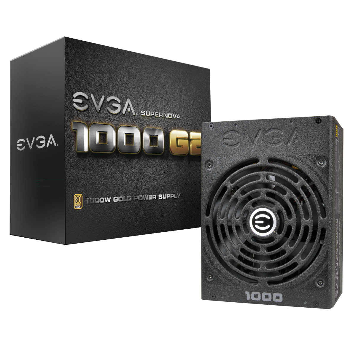 1000W eVGA SuperNOVA 1000 G2 80+ GOLD Modular ATX Power Supply 1