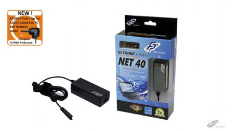 FSP 40W Universal NETBOOK Power Adapter PNA0400202