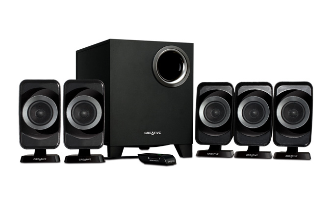 Creative Inspire 5.1 T6160 Speakers