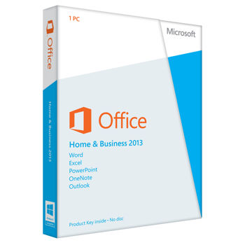 MS Office Home and Business 2016 Product Key Card - 1PC